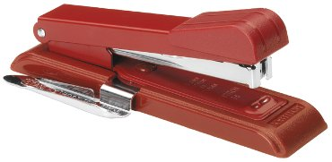 Nietmachine Bostitch B8+ontnieter 25vel STRC2115 rood
