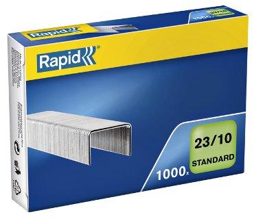Nieten Rapid 23/10 gegalvaniseerd standaard 1000 stuks