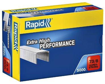 Nieten Rapid 73/8 gegalvaniseerd super strong 5000 stuks