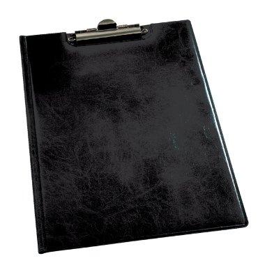 Klembordmap Durable 2355 met kopklem en insteek zwart
