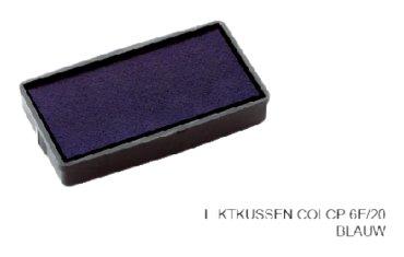 Stempelkussen Colop 6E/20 blauw
