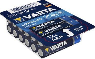 Batterij Varta Longlife Power big box 12xAAA