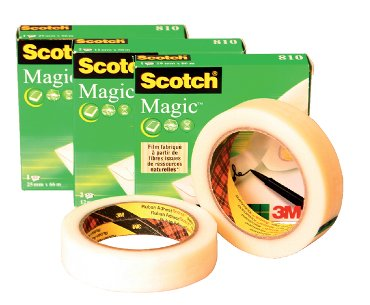 Plakband Scotch Magic 810 onzichtbaar 12mmx33m
