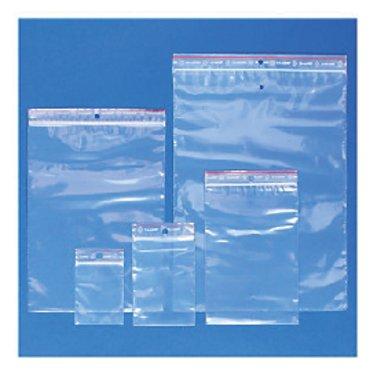Verpakkingszak grip hersluitbaar 50my 120x180mm 100 stuks