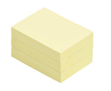 Memoblok Quantore 38x51mm geel
