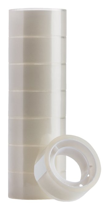 Plakband Quantore 19mmx10m transparant