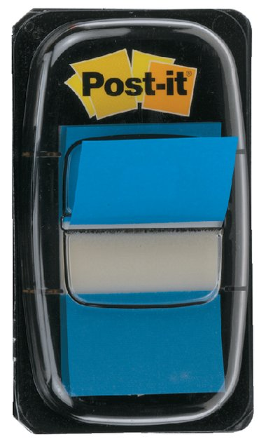 Indextabs 3M Post-it 6802 blauw