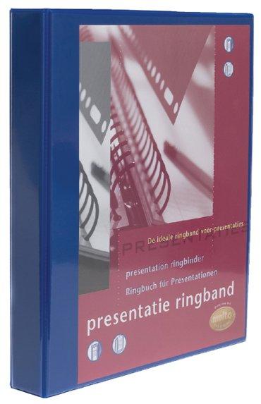 Presentatieringband Multo A4 23-rings O-mech 32mm blauw