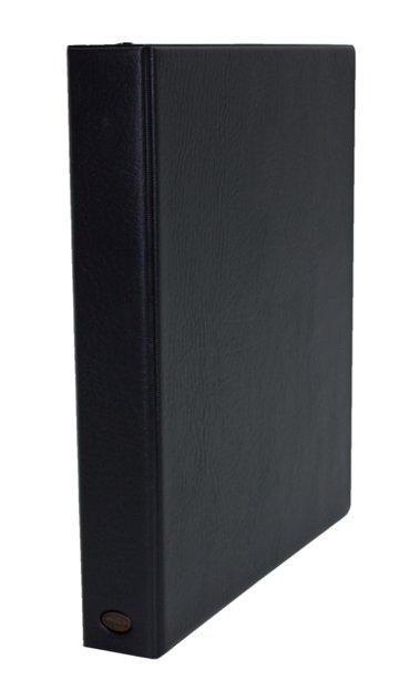 Ringband Multo Hannibal A4 23-rings D-mech 25mm lederlook zwart