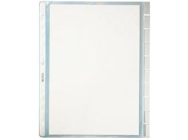 Showtas Leitz 4754 4-gaats PVC 0.13mm glad met tabs