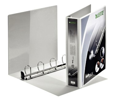 Panoramaringband Leitz SoftClick A4 4D-rings 40mm wit