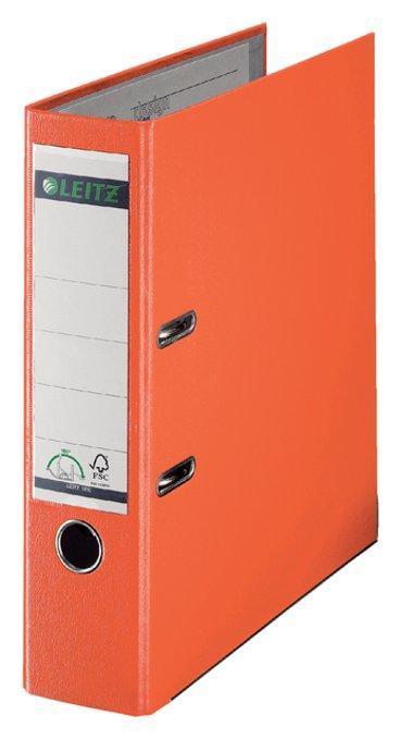 Leitz ordner A4 80 mm. oranje