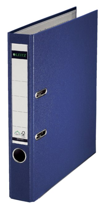 Leitz ordner A4 50 mm. blauw