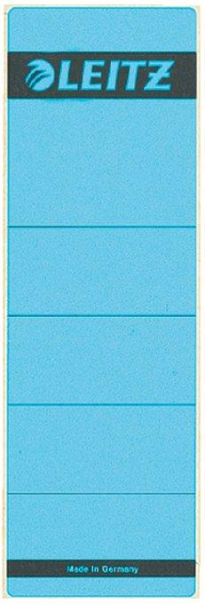 Leitz zelfklevende rugetiketten 1642 formaat 58 x 190 mm., kleur blauw