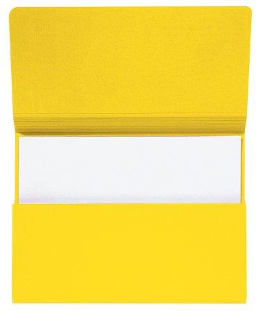 Pocketmap Secolor A4 270gr geel
