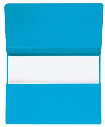 Pocketmap Secolor folio 270gr blauw