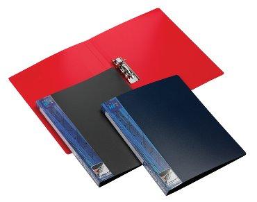 Klemmap HF2 A4 hefboonmechaniek rood