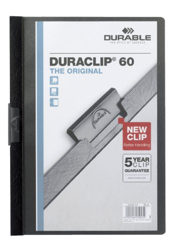 Klemmap Durable 2209 A4 6mm zwart