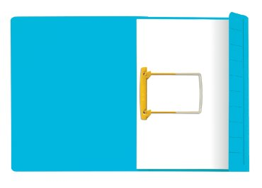 Jalema Secolor Clipmap, kleur blauw, formaat A4