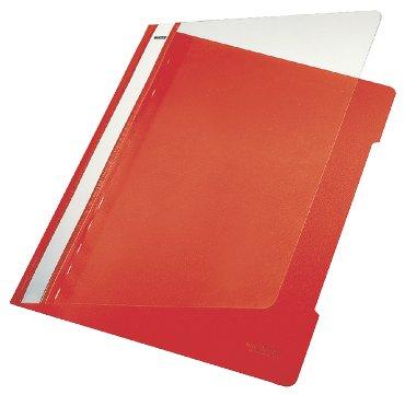 Snelhechter Leitz standaard A4 PVC rood