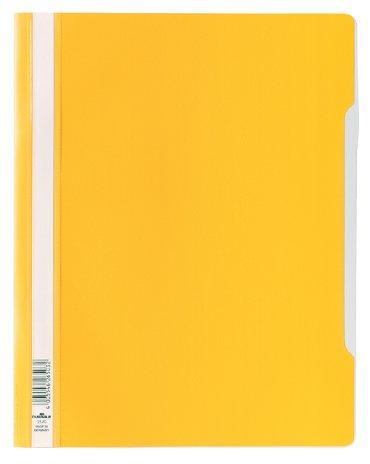 Snelhechter Durable A4 PVC geel