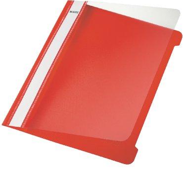 Snelhechter Leitz 4197 A5 PVC rood