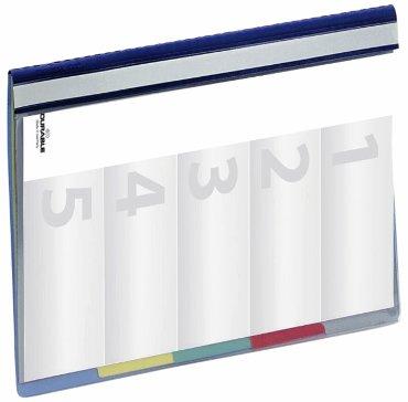Organisatiemap Durable Divisoflex A4 blauw