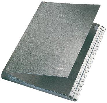 Leitz sorteermap 5831 indeling 1 - 31, kleur zwart, voor formaat A4