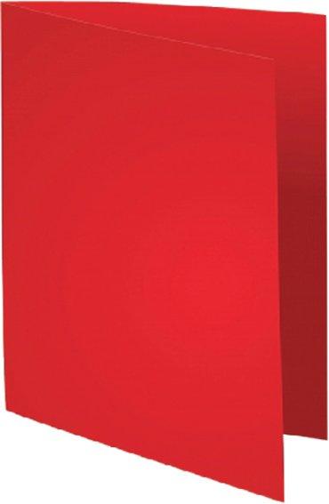 Vouwmap Exacompta Forever A4 170gr rood