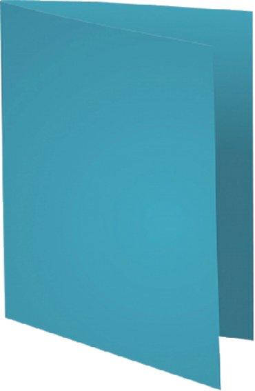 Vouwmap Exacompta Forever A4 170gr lichtblauw