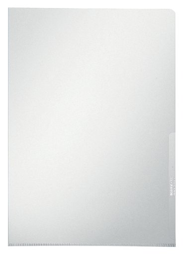 L-map Leitz premium A4 0.15mm PVC glashelder
