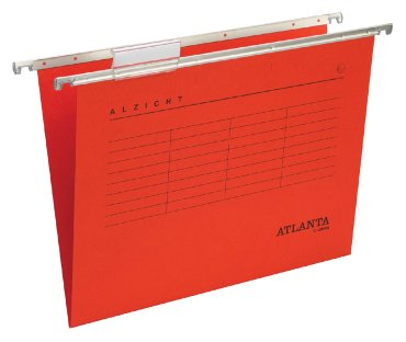 Hangmap Spectrum A6620-252 folio V-bodem rood