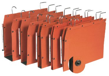 Hangmap Elba TUB A4 U-bodem 30mm oranje