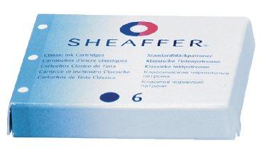 Inktpatroon Sheaffer Classic koningsblauw