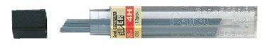 Potloodstift Pentel 0.5mm zwart per koker 4H