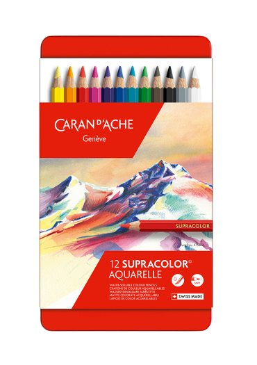 Kleurpotloden Caran d'Ache Supracolor 12stuks assorti