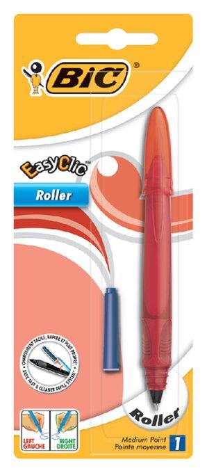 Rollerpen Bic easy clic assorti medium blister