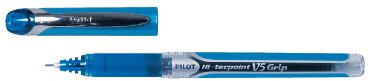 Rollerpen PILOT Hi-Tecpoint grip V5 0.3 blauw