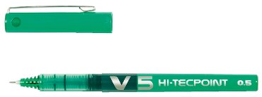 Rollerpen PILOT Hi-Tecpoint V5 groen 0.3mm