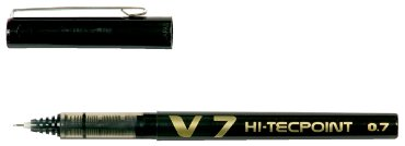 Rollerpen PILOT Hi-Tecpoint V7 zwart 0.5mm