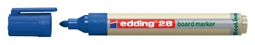 Viltstift edding 28 whiteboard Eco rond blauw 1.5-3mm