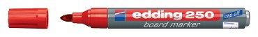Viltstift edding 250 whiteboard rond rood 1.5-3mm