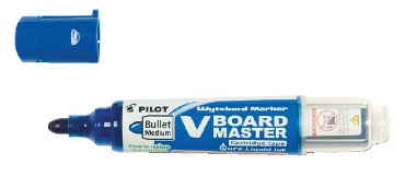 Viltstift PILOT Begreen whiteboard rond blauw 2.3mm