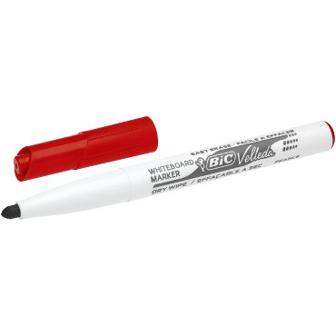 Viltstift Bic 1741 whiteboard rond rood 1.4mm