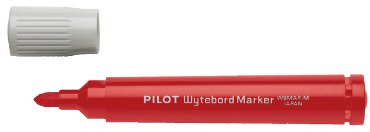 Viltstift PILOT 5071 whiteboard rond rood 1.8mm