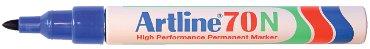 Viltstift Artline 70 rond 1.5mm blauw