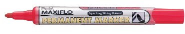 Viltstift Pentel NLF50 maxiflo rond rood 1.5-3mm