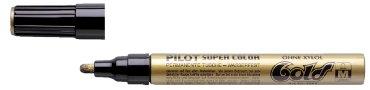 Viltstift PILOT Super SC-G-M lakmarker rond goud 2mm