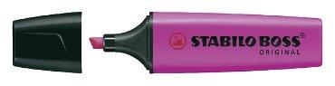 Markeerstift Stabilo Boss lila