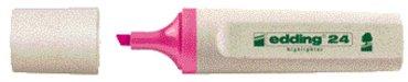 Markeerstift edding 24 Eco roze